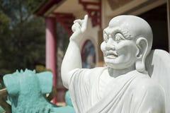 La pagoda hong hien la statue de Frances de frejus du TU photographie stock libre de droits