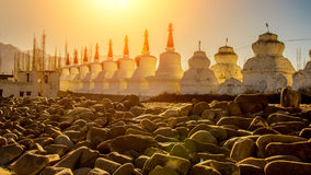 La pagoda in Leh fotografia stock libera da diritti