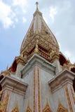 La pagoda magnífica en Wat Chalong Fotografía de archivo libre de regalías