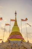 La pagoda nella sera Fotografia Stock Libera da Diritti