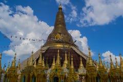 La pagoda principal, Myanmar Imagen de archivo