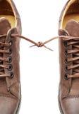 La paire de chaussures bondissent ensemble Photo stock