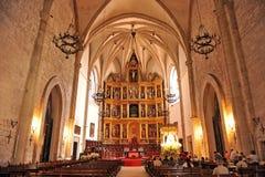 La pala della cattedrale di Ciudad Real, Spagna Immagine Stock