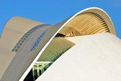 La Palau de les Arts, ville des arts et des sciences Photographie stock