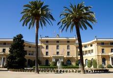 La Palau Reial de Pedralbes Photos stock
