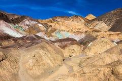 La palette de l'artiste dans Death Valley image stock