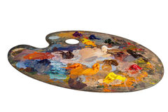 La palette du peintre Images libres de droits