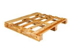La palette en bois Photographie stock
