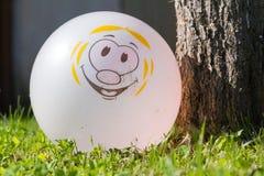 La palla all'albero Fotografia Stock