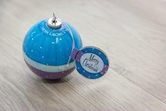 La palla con i desideri per Buon Natale Fotografia Stock Libera da Diritti