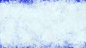 la palla di neve 4k macchia la sporcizia dell'inchiostro, fuochi d'artificio di inquinamento delle particelle del chicco di grand video d archivio