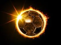 La palla gradisce l'eclissi solare Immagini Stock