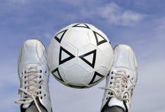 La palla nel cielo Fotografie Stock