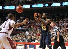 La pallacanestro 2013 degli uomini del NCAA Fotografie Stock Libere da Diritti