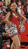 La pallacanestro 2013 degli uomini del NCAA - ragazza pon pon o ballerino Fotografia Stock Libera da Diritti