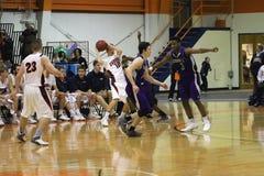 La pallacanestro degli uomini del NCAA Fotografia Stock Libera da Diritti