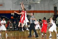 La pallacanestro degli uomini del NCAA Fotografia Stock