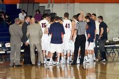 La pallacanestro degli uomini del NCAA Immagine Stock Libera da Diritti