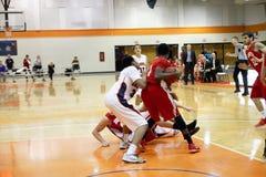 La pallacanestro degli uomini del NCAA Fotografie Stock