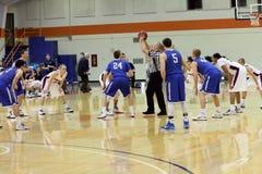 La pallacanestro degli uomini del NCAA Immagine Stock