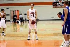 La pallacanestro degli uomini del NCAA Fotografie Stock Libere da Diritti