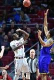 2015 la pallacanestro degli uomini del NCAA - Delaware al tempio Fotografie Stock