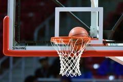 2015 la pallacanestro degli uomini del NCAA - FDU al tempio Fotografia Stock