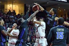 2015 la pallacanestro degli uomini del NCAA - Tempio-Tulsa Fotografie Stock