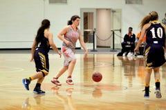 La pallacanestro delle donne del NCAA Immagine Stock Libera da Diritti