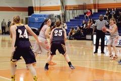 La pallacanestro delle donne del NCAA Fotografie Stock Libere da Diritti