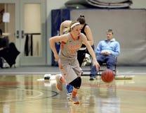 La pallacanestro delle donne del NCAA Immagine Stock