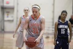 La pallacanestro delle donne del NCAA Fotografie Stock
