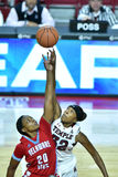 2015 la pallacanestro delle donne del NCAA - tempio contro lo stato del Delaware Fotografie Stock