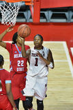 2015 la pallacanestro delle donne del NCAA - tempio contro lo stato del Delaware Immagine Stock