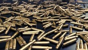 La pallottola sguscia il fondo - illustrazione 3D Fotografia Stock Libera da Diritti