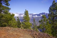 La Palma Caldera de Taburiente Royalty Free Stock Photography