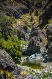 Canyon of fear, Barranco de las Angustias Royalty Free Stock Photos
