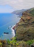 La Palma Coastline, Canary Islands Royalty Free Stock Photo