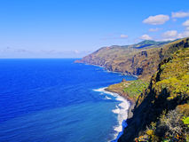 La Palma Coastline, Canary Islands Stock Photo