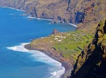 La Palma Coastline, Canary Islands Royalty Free Stock Photos