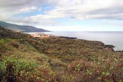 La Palma das Ilhas Canárias Foto de Stock Royalty Free