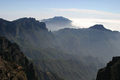 La Palma de la isla Foto de archivo