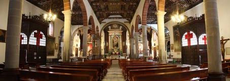 La Palma della chiesa di El Salvador Fotografie Stock