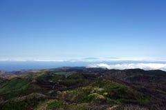 La Palma from Garajonay Royalty Free Stock Photography
