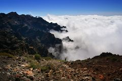 La Palma Island overview Stock Photography