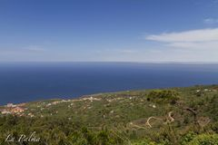 La Palma, Islas Canarias, Canary Islands, Spain. Typical landscape in the island, places you must visit at least once in your life royalty free stock image