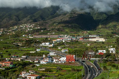 La Palma, isole Canarie del paesaggio Fotografia Stock