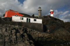 La Palma lightouse Stock Photo
