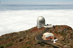 La Palma Observatory Roque de los Muchachos Stock Photo