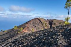 La palma ruta de los vulcanos crater Royalty Free Stock Photography